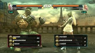 Dave plays Tekken Revolution: Part 5 - Dem Legs, Learning Lili