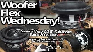 Woofer Flex Wednesday - CT Sounds Meso 2.0 8