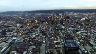 (4K)DJI P3P新北市三重區群光電子企業總部大樓空拍