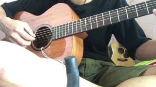 Test Thuận guitar AT04 fm new 2017 non binding