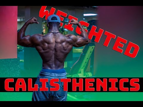 BRUTAL High Volume Weighted Calisthenics | 300 reps
