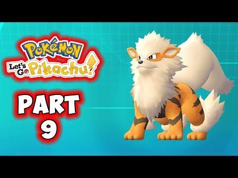Let S Go Pikachu Part 9 Arcanine Gameplay Walkthrough Youtube