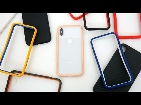 RhinoShield SolidSuit Vs CrashGuard NX Vs Mod NX Case Comparison For IPhone XS!