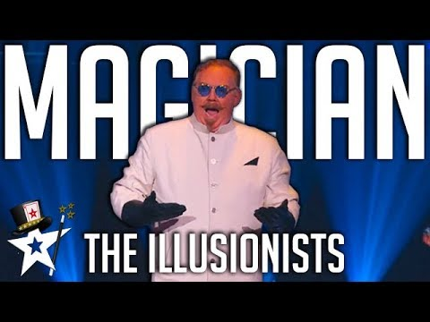 The Illusionists Scare Nick Cannon on America's Got Talent | Magicians Got Talent