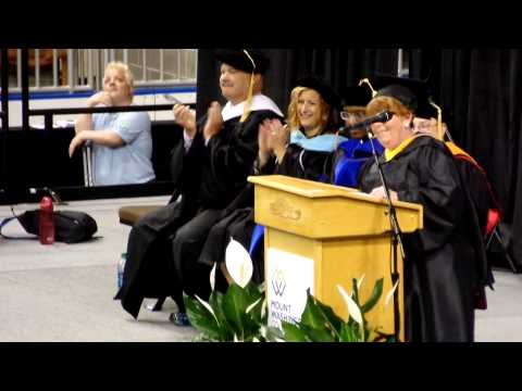 Linda Batcheller - Mount Washington College Commencement Speech - May 2015