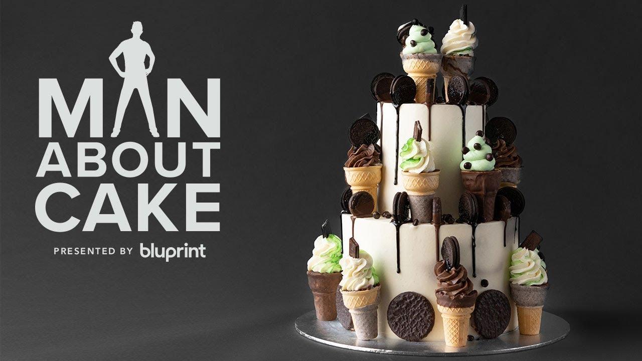 Diy Ice Cream Cone Cake You Can Actually Make Man About