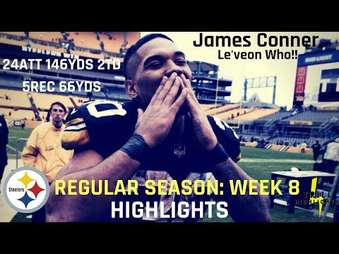 James Conner Week 8 Highlights | Le'veon Who 10.28.2018