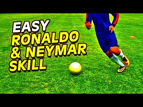 Learn Easy CR7, Ronaldo & Neymar Football Skills & Tricks Tutorial