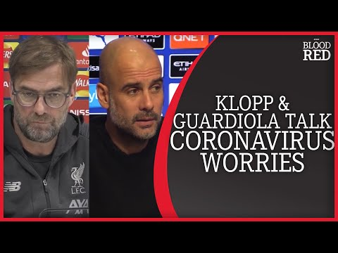 Jurgen Klopp and Pep Guardiola speak on coronavirus as Man City v Arsenal is postponed