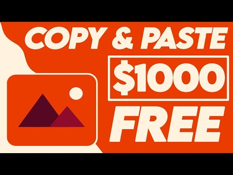 Earn $1,000 With FREE Images (5 Min - NO CAMERA) | Make Money Online