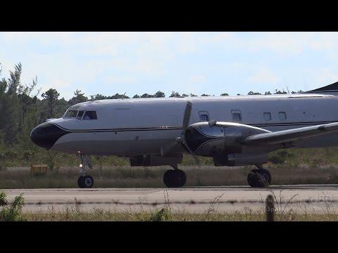 Convair C-131B Departure | N145GT | Nassau Bahamas
