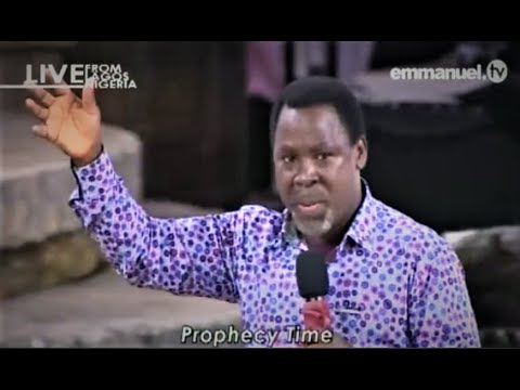 Смотрите сегодня видео новости SCOAN 15/04/18: Powerful Mass Prayer,  Prophecy & Deliverance with TB Joshua на онлайн канале Russia-Video-News Ru