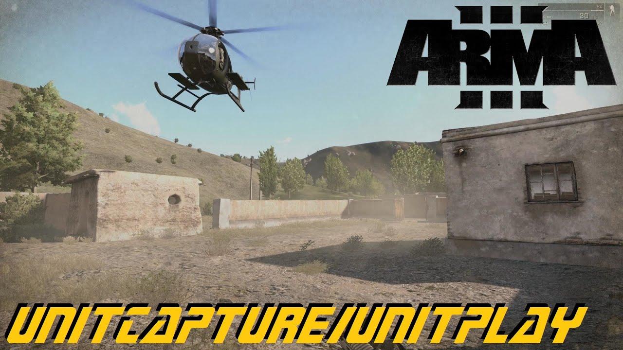 ARMA 3 Editor - unitCapture and unitPlay
