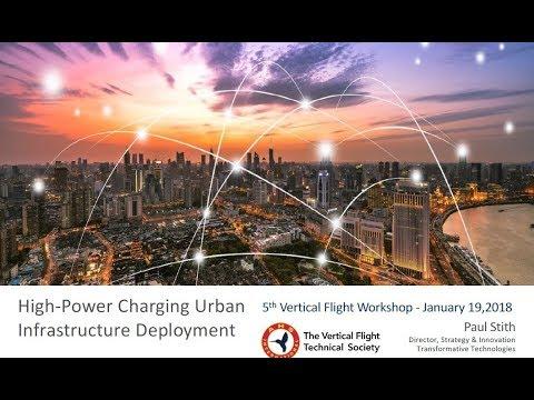 Transformative VTOL Workshop, Session 12: Urban Aviation Ground Infrastructure