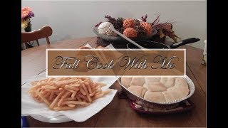 Fall Cook With Me | Fried Chicken | Life With The Brewers