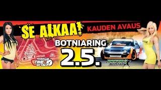 Radalle.com 2015 kauden avajaiset Botniaringillä 2.5.2015