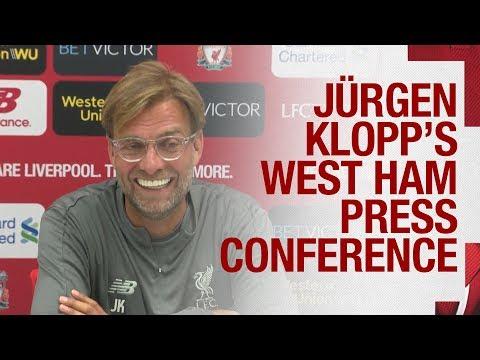 Jürgen Klopp's Pre-West Ham Press Conference   Alisson, Sturridge, Team News And More