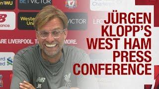 Jürgen Klopp's pre-West Ham press conference | Alisson, Sturridge, team news and more