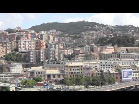 The Port of Genova (Genoa), Italy - 13th July, 2014