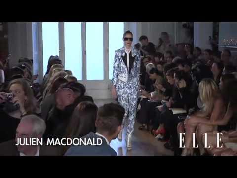 Julien Macdonald. London Fashion Week primavera verano 2012 | Elle España