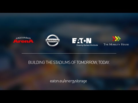 Energy Storage system developed to make the world-famous Amsterdam ArenA more energy efficient