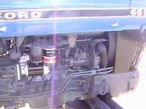 MOV02351 Tractor Ford 6610 $14,500 Dlls. Reparado.