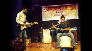 Abhishek Arora, Aadat (on guitar) 01.09.2015