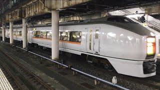 【すわろーあかぎ】651系 特急 スワローあかぎ@上野駅