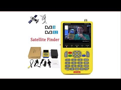Satellite Finders and Accessories