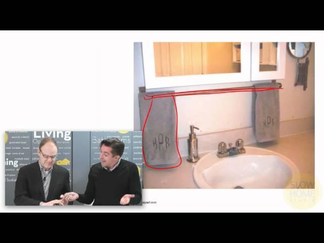 Where To Install Bathroom Hardware Youtube