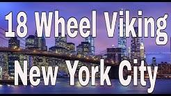 NY City Monday Morning CDL Trucking George Washington Bridge + Long Island Expressway | RVT