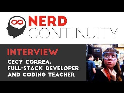 Episode 5 - Cecy Correa: Full-stack Developer and Coding Teacher
