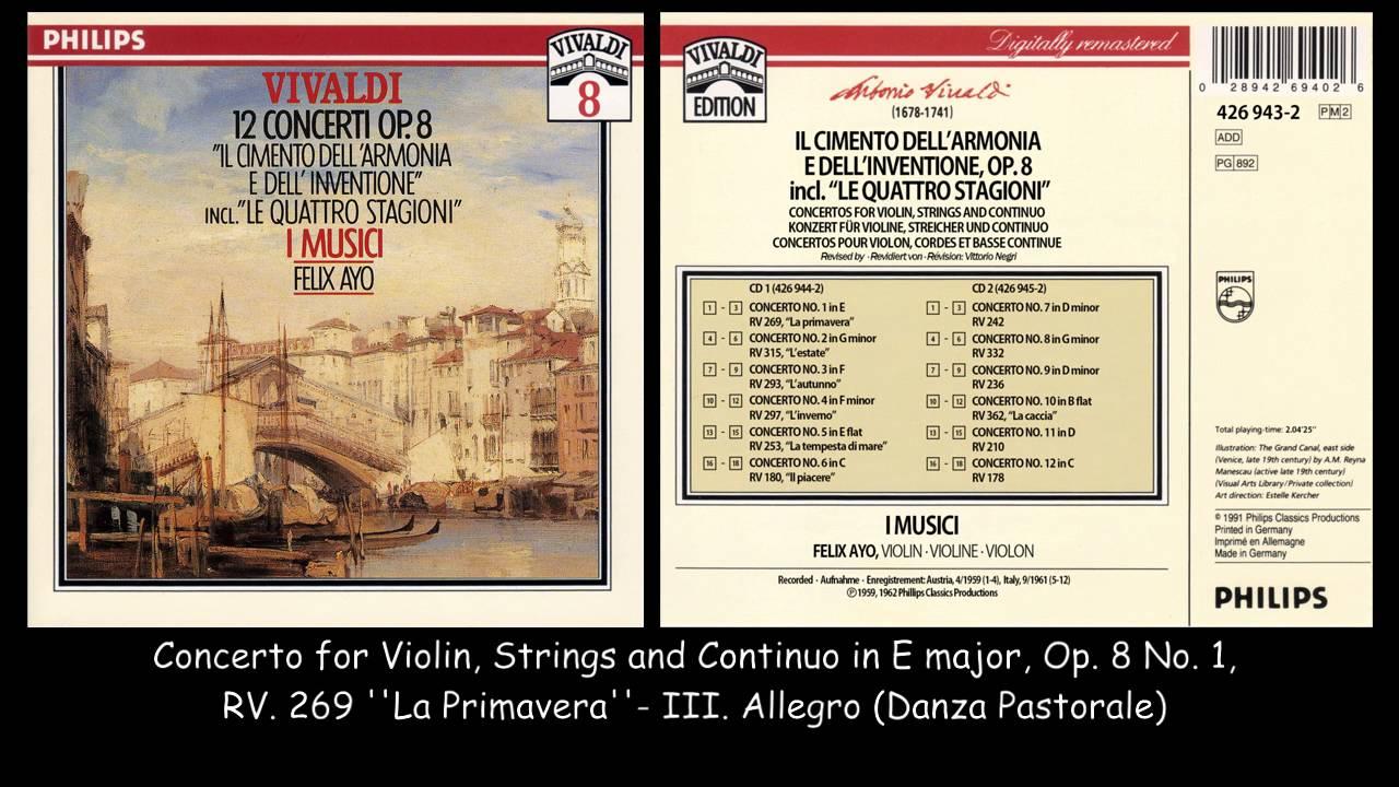 Antonio Vivaldi Vivaldi - The Academy Of Ancient Music - Stabat Mater • Nisi Dominus • Concerto In G Minor