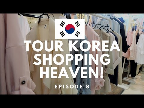 Korean Shopping HEAVEN | TOUR KOREA EP8