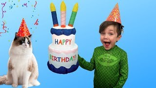 Happy Birthday My Cat  Nursery Rhymes song for Children