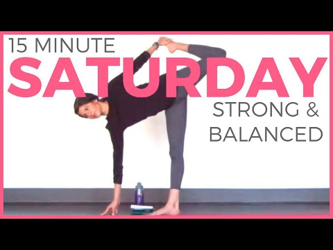 Saturday - Strong & Balanced Power Yoga Routine | 7 Day Yoga Challenge