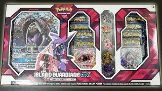 Pokemon Island Guardians GX Premium Pin Collection Box Opening!