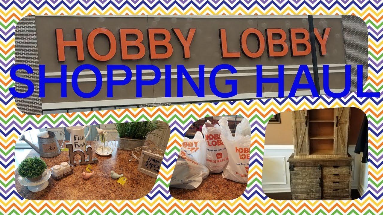Happy Birthday Hobby Lobby Shopping Haul - YouTube on Hobby Lobby Online Shopping id=21270