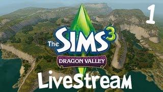 TheQuxxn: The Sims 3 Dragon Valley Livestream (Part 1)