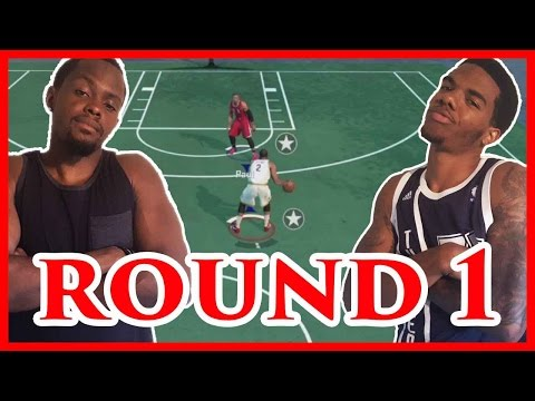 BATTLE OF THE POINT GUARDS!!! - NBA 2K16 Blacktop Gameplay | Game 1 Series 1