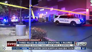 Triple homicide in North Las Vegas