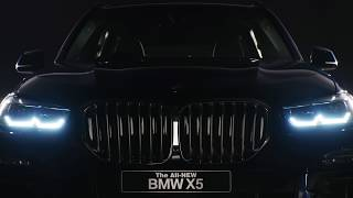 Extraordinary Charisma - THE ALL NEW BMW X5.
