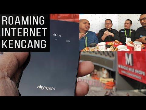 Pakai Skyroam untuk Meliput di Amerika: Review Modem Skyroam WiFi 4G Baterai Awet, Internet Kencang - 동영상