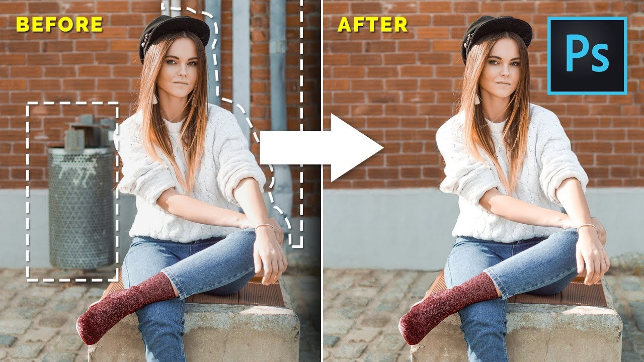 Download How To Remove ANYTHING From a Photo in Photoshop