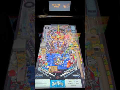 Arcade1up Pinball Junkyard Gameplay from Kevin F