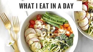 What I Eat In A Day #6 | No Added Sugar Challenge + Farmer's Market | Healthy Grocery Girl