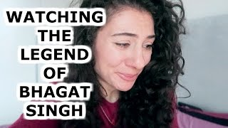 THE LEGEND OF BHAGAT SINGH DUTCH GIRL BOLLYWOOD REACTION  | TRAVEL VLOG IV