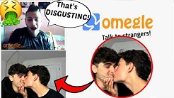 GAYS KISS ON OMEGLE 2 (Anti-LGBT)