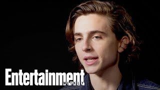 Timothée Chalamet On Dramatic Narrative Of Call Me By Your Name | Oscars 2018 | Entertainment Weekly