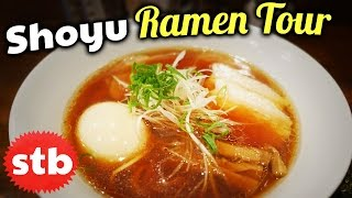 Shoyu Ramen Noodles Tour in Tokyo, Japan // Hunting for the BEST Shoyu Ramen Shop